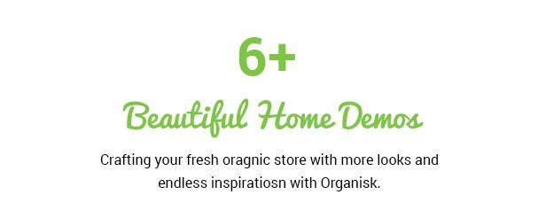 Organisk - Multipurpose Organic WooCommerce Theme - 4