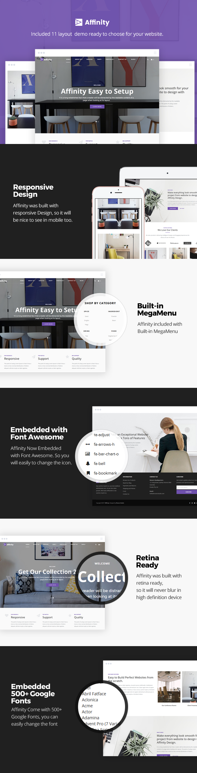 Affinity Is A Simple E Commerce WordPress Theme Based On WooCommerce This Suitable For You Who Want To Create Website Online Shop