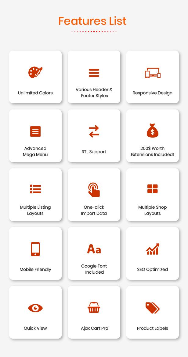 eMarket - Opencart 3 Teması