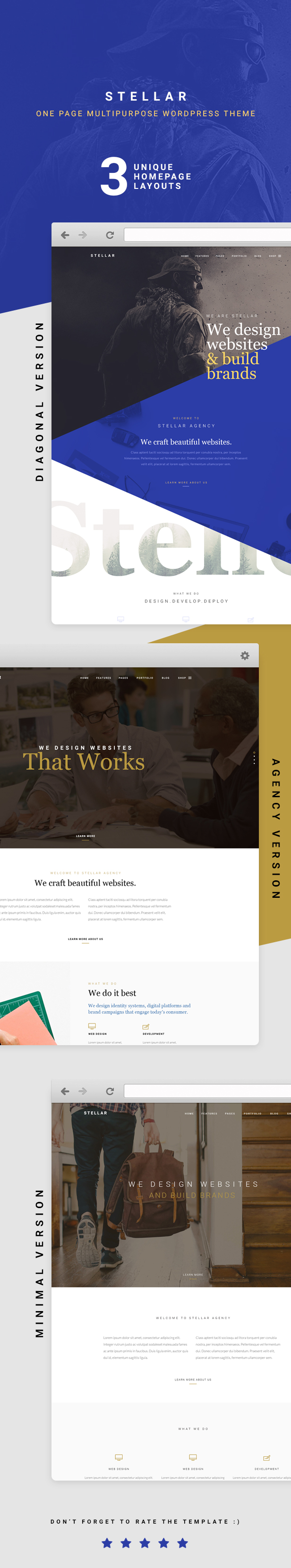 Stellar - Creative & Agency Responsive WP Theme