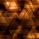 Modern Abstract Glowing Triangles Pack 01