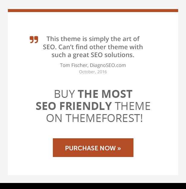 Clean Cutta - The Most SEO Friendly Theme on ThemeForest