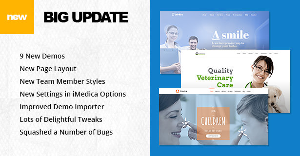 iMedica - Responsive Medical & Health WP Theme - 5