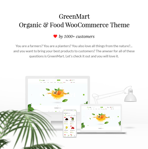 GreenMart – Organic & Food WooCommerce WordPress Theme - 7
