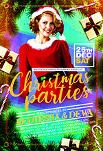 Christmas Night Party Flyer - 6