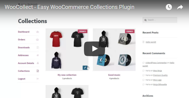 WooCollect - Easy WooCommerce Collections - 1