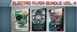 Christmas Electro Flyer Bundle Vol. 1 - 5