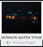Ultimate Glitch Titles Trailer