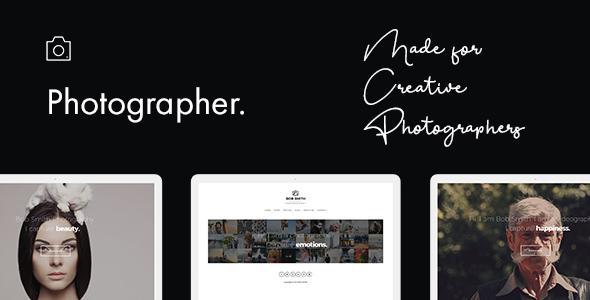 Photographer Premium WordPress Theme