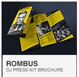 Rombus - DJ Press Kit template