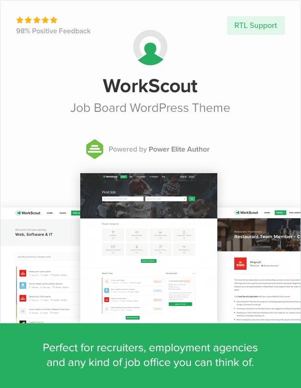 WorkScout - Job Board WordPress Theme - 4