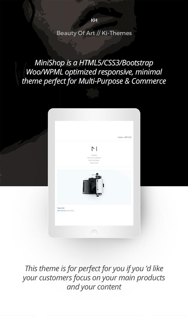 Minishop - Multipurpose, Minimal, e-Commerce, Marketplace WordPress Theme 32