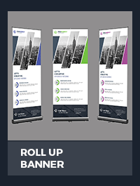 Roll Up Banner - 6