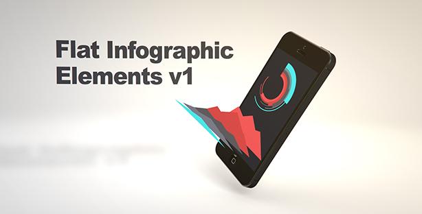 Flat Infographic Elements V1 - 4