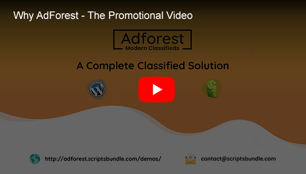 adforest classified solution promotional video