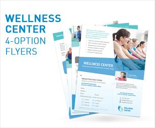 Wellness Center Flyers 2 - 4 Opties - 2