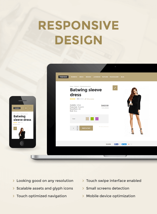 Trendo - Minimalist Moda Mağazası OpenCart Teması - 11
