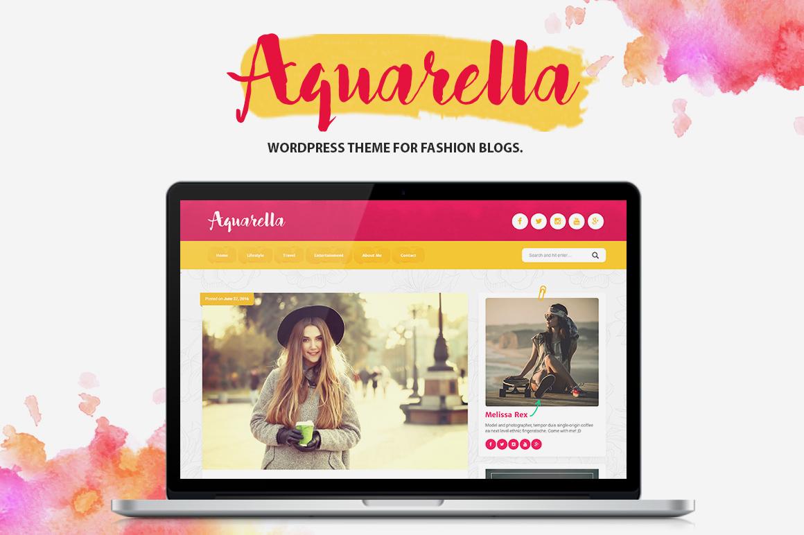Aquarella - Lifestyle Theme for Digital Influencers, Bloggers & Travelers - 1