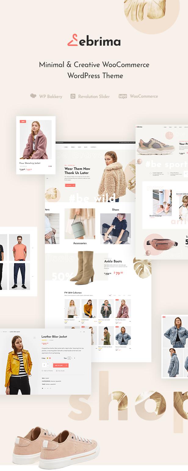 Ebrima - Minimal & Creative WooCommerce WP Theme - 2