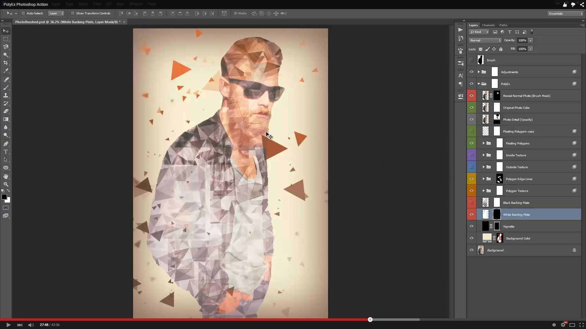 how to add an action to photoshop