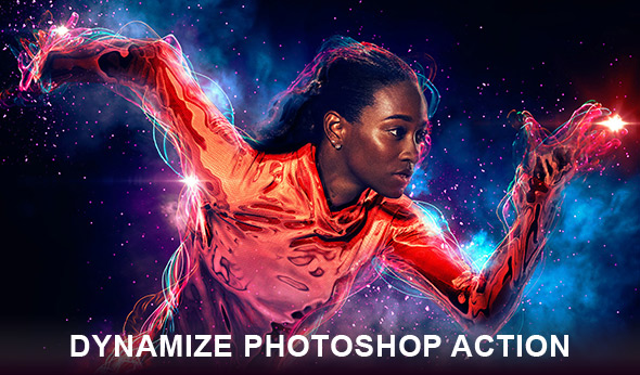 Dynamize Photoshop action