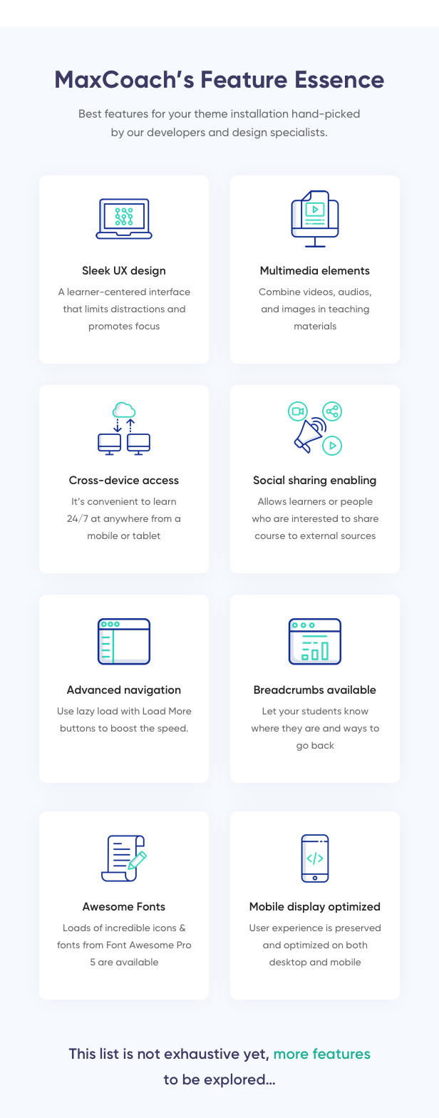 MaxCoach - Education Bootstrap 4 Template - 4