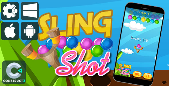 Sling Shot Html5 Game - CodeCanyon Item for Sale