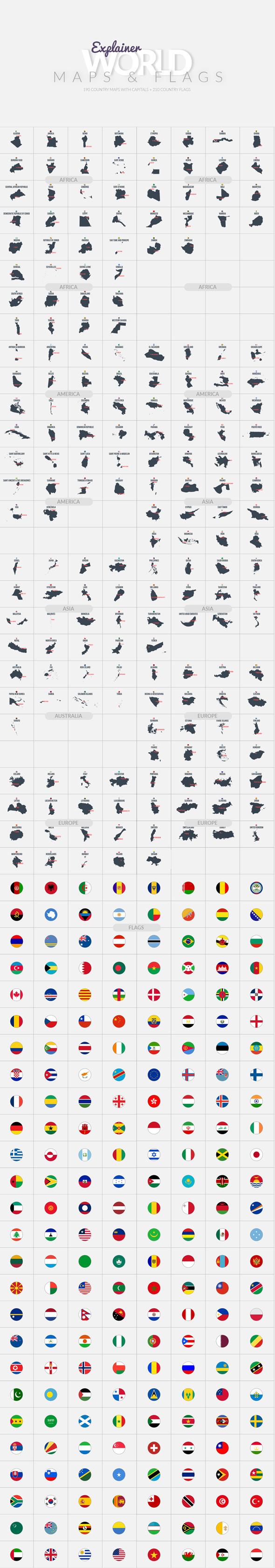 Explainer World Essential Graphics | Mogrt - 25