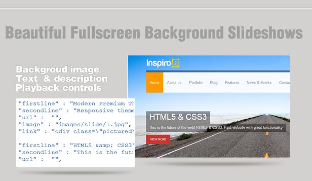 Inspiro B - Responsive HTML5 Template - 8