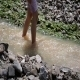Girl Playing In Water - 119