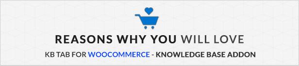 KB Tab For WooCommerce - Knowledge Base Addon - 6