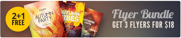 Autumn Flyer Bundle