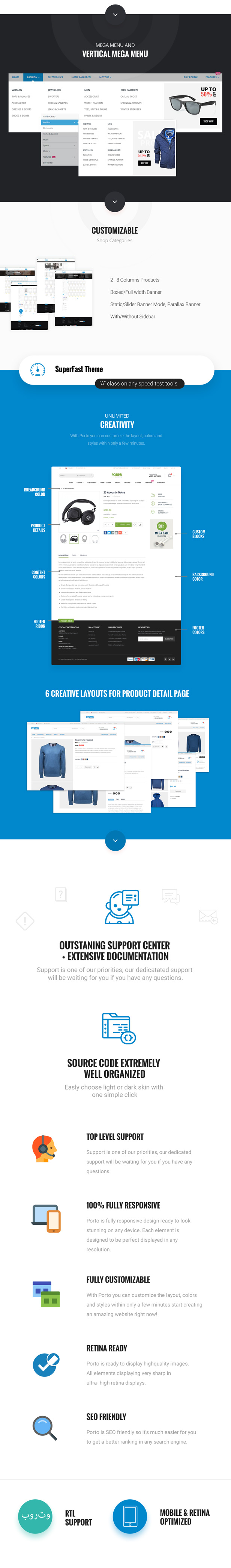 7c1b5b9b68 Porto - eCommerce HTML Template by p-themes