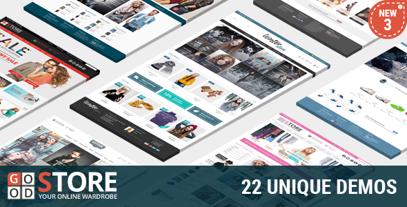 Goodstore premium ecommerce theme for wordpress