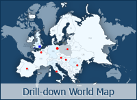 Interactive Drilldown World Map