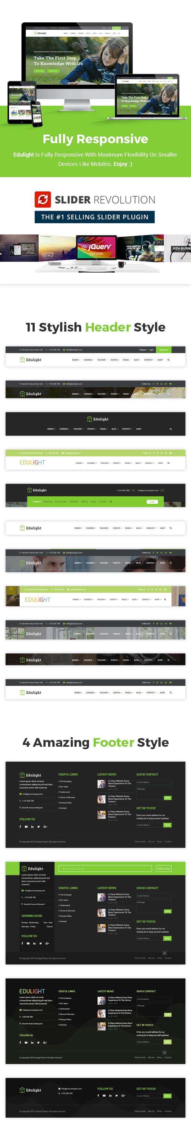 EduVision - Education WordPress Theme