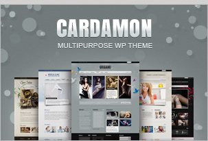 Cardamon WP – Multiporpouse WordPress Theme