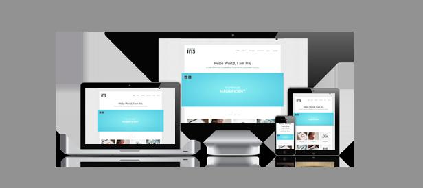 Iris - Clean / Responsive / Ajax / HTML5 - 1