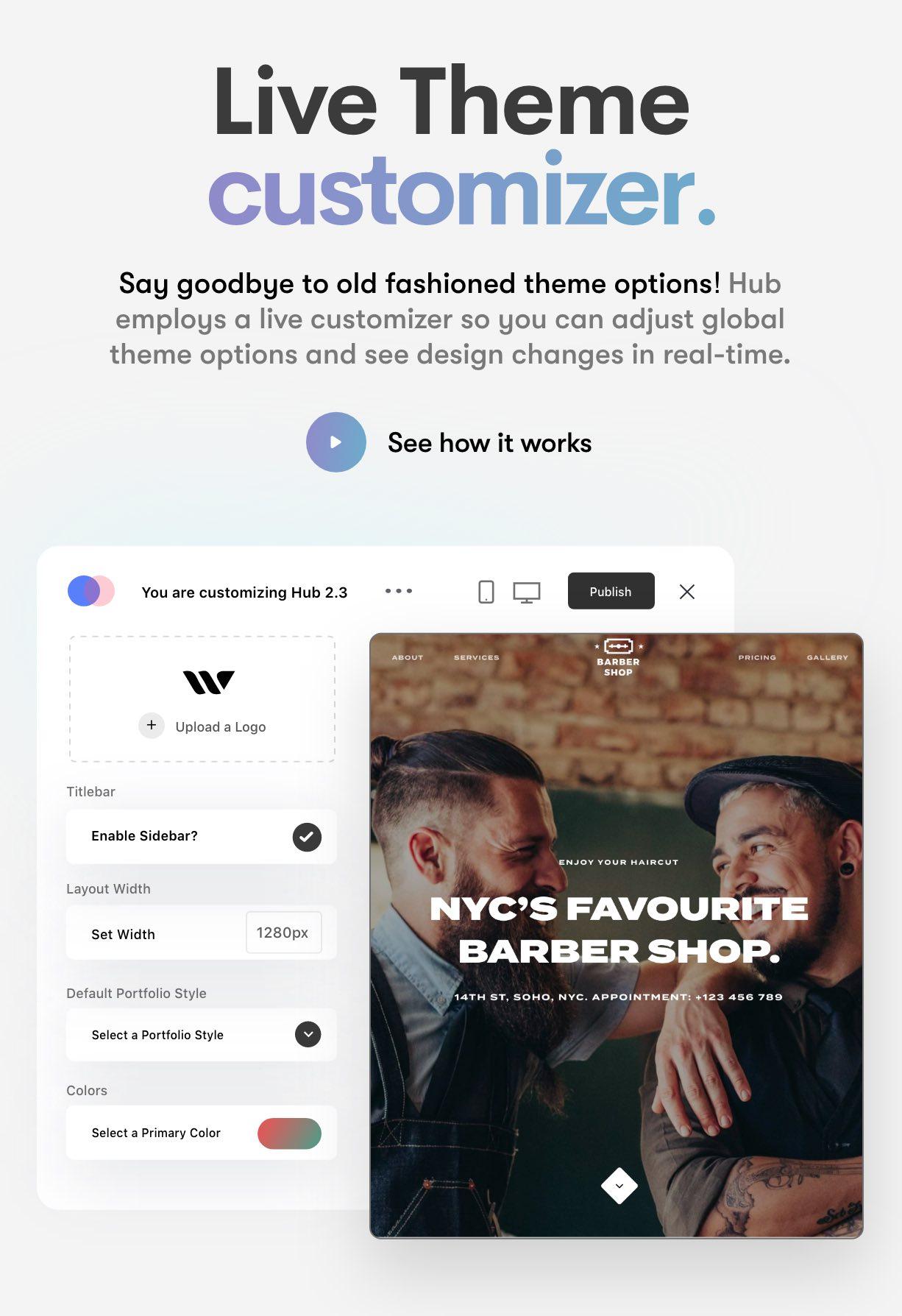 Hub - Responsive Multi-Purpose WordPress Theme - 11