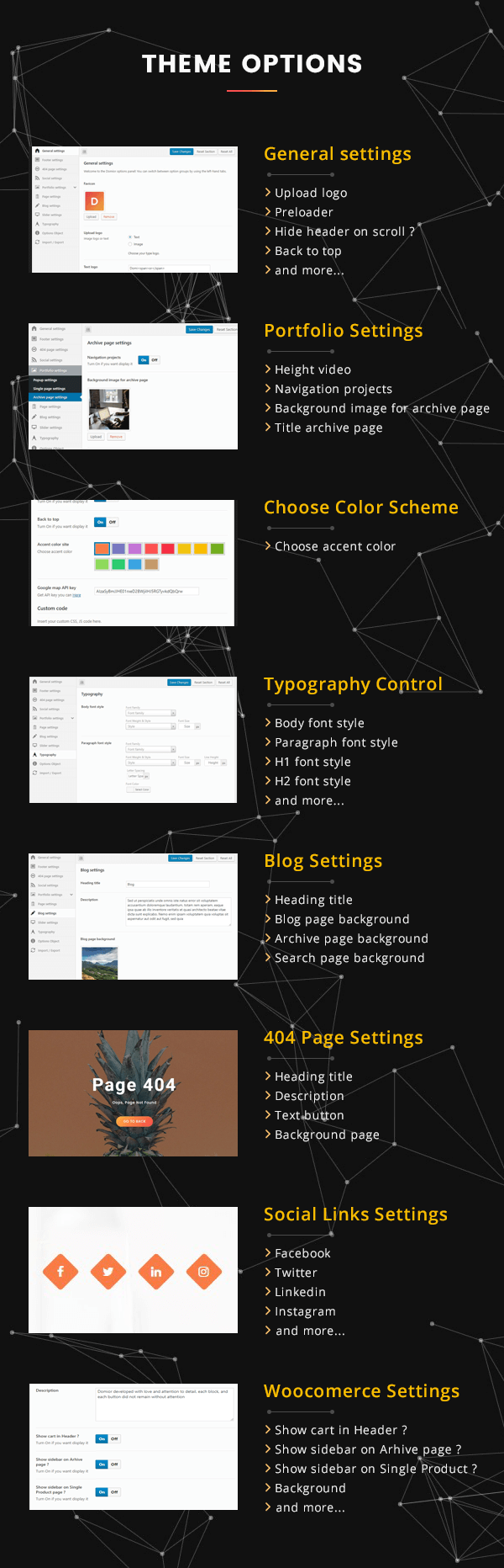 Domior - Creative Personal Portfolio WordPress Shop Theme - 6