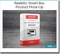 photo realistic smart box product mock-up vol2