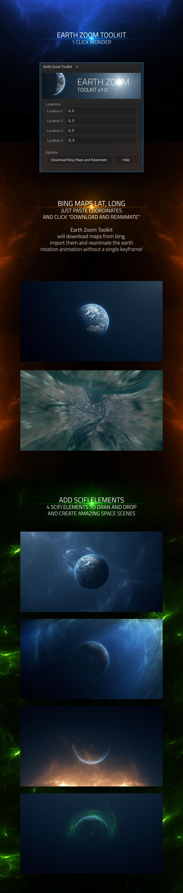 Earth zoom toolkit by mocarg videohive create earth zoom animation with ease in 1 click in seconds gumiabroncs