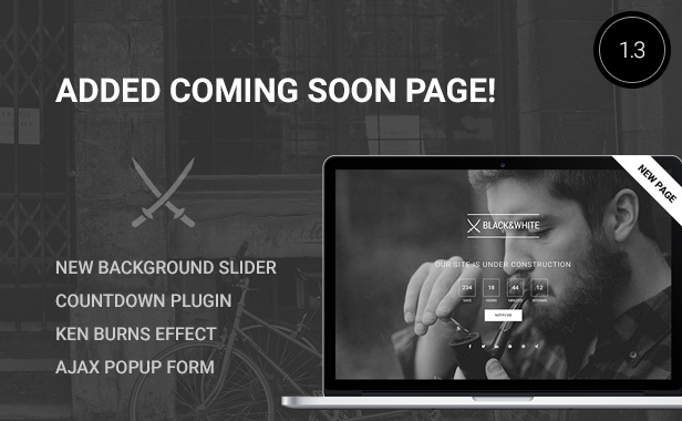 Black&White - Creative Multipurpose WordPress Theme - 2