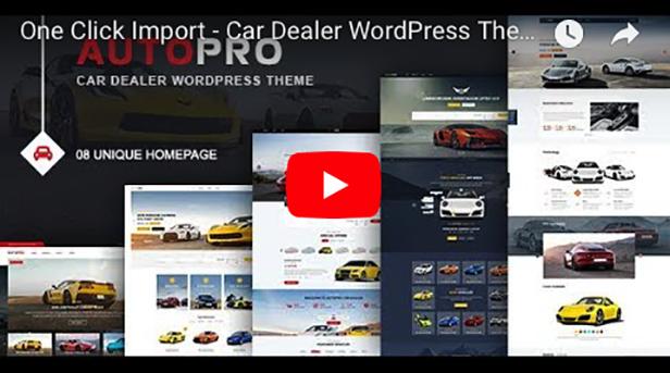 AutoPro - Car Dealer WordPress Theme - 4