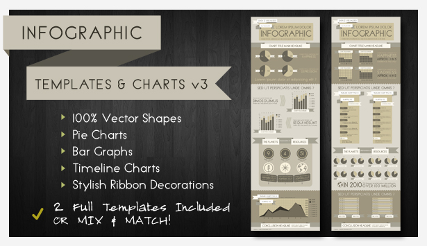 Advanced Infographic Charts and Templates - 8