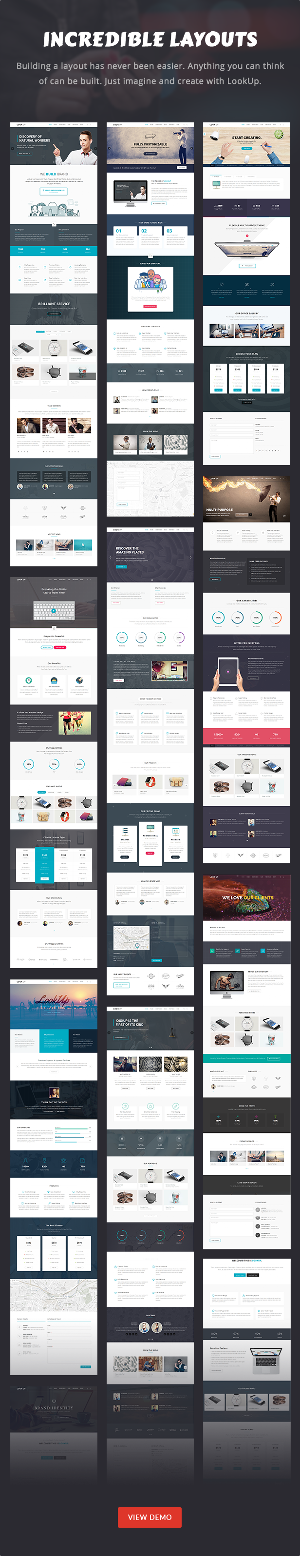LookUp - Responsive Multi-Purpose HTML5 Template by IdealTheme ...