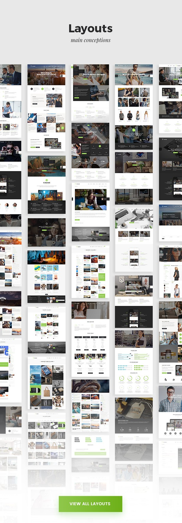 Crane - Highly Customizable Multi-Purpose WordPress Theme