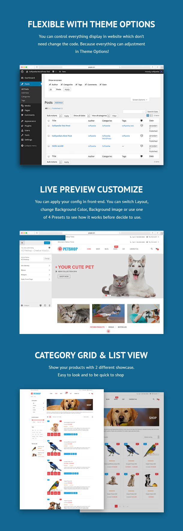VG Petshop - Creative WooCommerce theme for Pets and Vets - 21