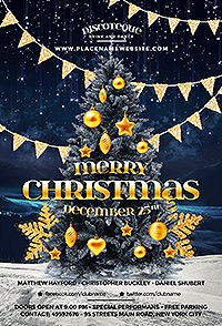 Christmas Flyer - 25