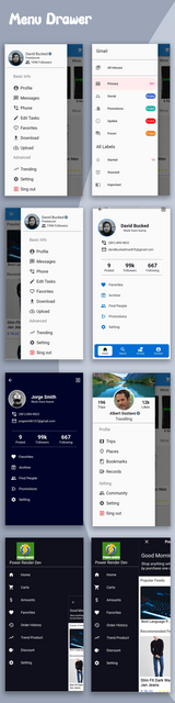 Material Design - Flutter Ui Kit Android - 4